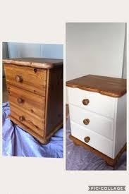 rejenerate pine wardrobe annie sloan chalk paint old white