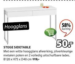 Jysk Side Table Interesting Jysk Side Table With Sidetable Folder Aanbieding Bij