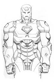 ironman pencil w i p by thelearningcurv on deviantart