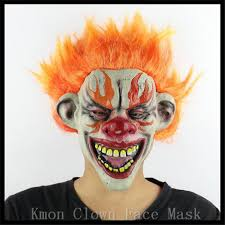 Payday Halloween Costume 2017 Party Mask Masqu Wholesale Latex Scary Clown Mask Payday
