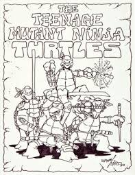 original tmnt sketch up for bidding the mary sue