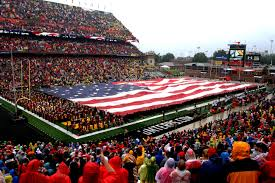 University Flags Service Members Take Part In University Of Maryland U0027s Tribute To