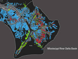 Map Of Mississippi And Louisiana by Using Landsat Usgs Reports Post Katrina And Rita Land Change