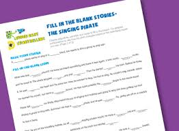 fill in the blank stories super easy storytelling