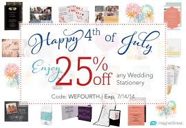 july 4th sale on wedding stationery truly engaging wedding