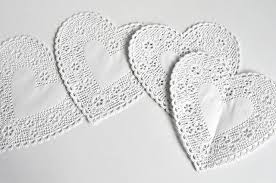 heart doilies aesthetic nest craft heart doily poms tutorial