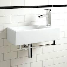 wall mounted bathroom sinks beautiful square on white porcelain
