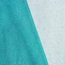 fabric tulle teal glitter tulle fabric onlinefabricstore net
