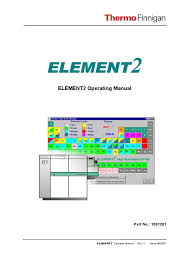 thermo finnigan element2 operating manual calibration