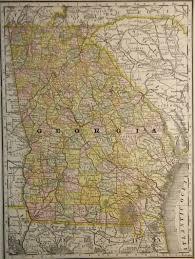 Maps Of Georgia Map Of Georgia 1897