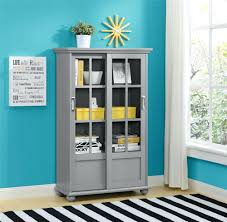Ikea Bookcases With Glass Doors Glass Bookcase Zivile Info