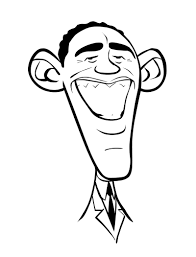 barack obama coloring page coloring pages online