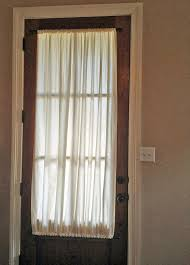 Best Net Curtains For Privacy Best 25 Front Door Curtains Ideas On Pinterest Door Curtains