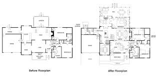 custom rambler floor plans baby nursery tri level home plans porch interesting overhang