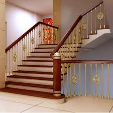 copper armrest gold plated copper armrest quality copper stair