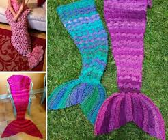 free crochet pattern for child mermaid blanket dancox for
