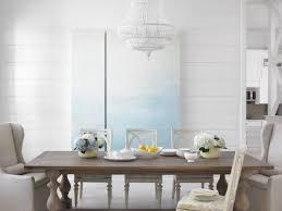 Wohn Esszimmer Ideen Brauner Tisch Weiße Stühle Möbelideen