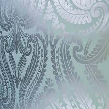 Silver Metallic Wallpaper by Silver Foil Wallpaper Wallpapersafari
