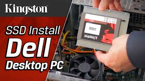 pc bureau ssd how to install an ssd in a dell desktop pc kingston technology
