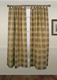 Tab Top Country Curtains Tab Top Curtains Ebay