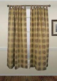 Tab Top Button Curtains Tab Top Curtains Ebay