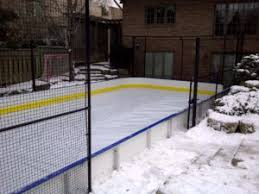How To Build An Ice Rink In Your Backyard How To Turn Your Backyard Court Into An Ice Rink