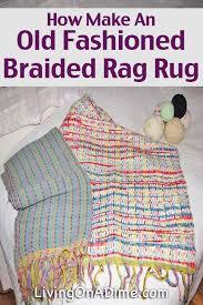 Crochet A Rag Rug Make Old Fasioned Braided Rag Rug Jpg