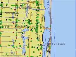 Palm Beach Florida Zip Code Map Lake Worth Florida Fl 33460 33480 Profile Population Maps