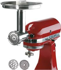 jupiter metal food grinder attachment for kitchenaid stand mixers