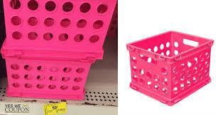sterilite storage home depot black friday sterilite mini crates as low as 10 love these