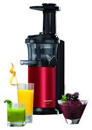 Panasonic Kitchen Appliances India Panasonic Mj L500rxc Slow Juicer With Frozen Attachment 150 W