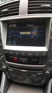 toyota lexus is 220d is220d mark levinson audio with sat nav u0027dvd error u0027 lexus is 250