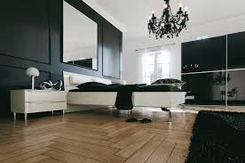 Decorating Ideas For Black Bedroom Furniture Soft Combination Of Black And White Bedroom 500x749 Calm And