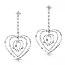 heart shaped earrings heart shaped earrings houston heart shaped earrings
