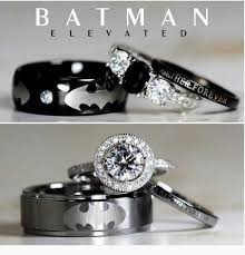 batman wedding band these are the ultimate wedding rings for geeks