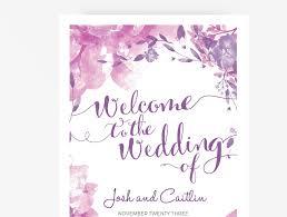 purple wedding programs wedding program booklet diy editable ms word template floral