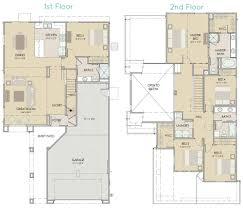 floor plan 2nd floor paseo plan 5 pasadera homes