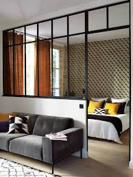 Interior Small Bedroom Best 25 Glass Partition Wall Ideas On Pinterest Glass Partition