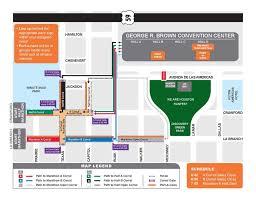 houston map convention center pre race services chevron houston marathon