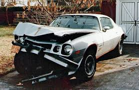 third camaro z28 1977 chevrolet camaro z28 crushed front end rod