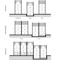 Skinny Houses Floor Plans Architectureweek Design Nice And Narrow 2011 0223