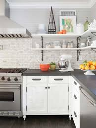 Open Kitchen Shelf Ideas Kitchen Best Open Kitchen Shelving Ideas On Pinterest Dreaded