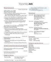 Latex Resume Template Phd Latex Resume Template Phd Academic Cv Graduate Student Business