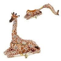 giraffe ornament bronze wildlife giraffe ornaments
