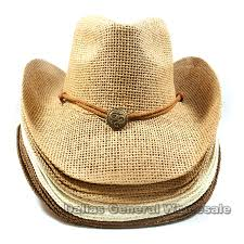 vented straw cowboy hats wholesale