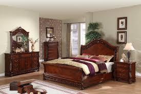 shiny brown furniture set queen bedroom sets beauty dark wood anne