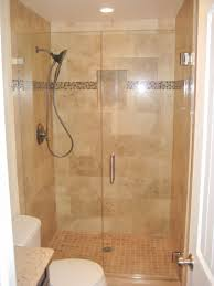 simple btahroom design ideas displaying shower steel connected