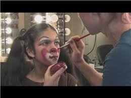 professional theatrical makeup applying theatrical makeup how to apply clown makeup