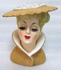Vintage Lady Head Vases 30 Best Vintage Lady Head Vases Images On Pinterest Head