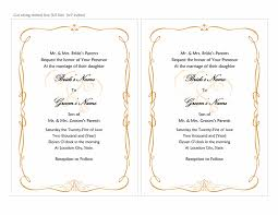 wedding template invitation wedding invitations heart scroll design a7 size 2 per page